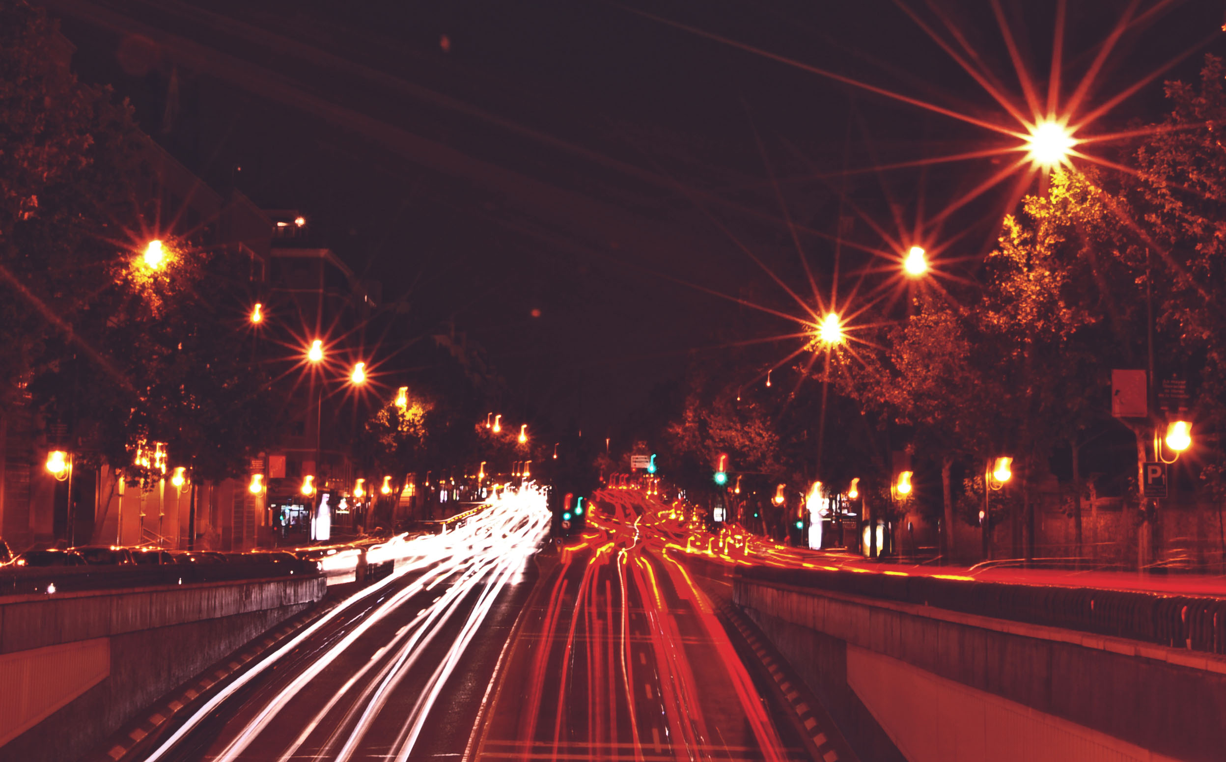 madrid-cars-in-the-night