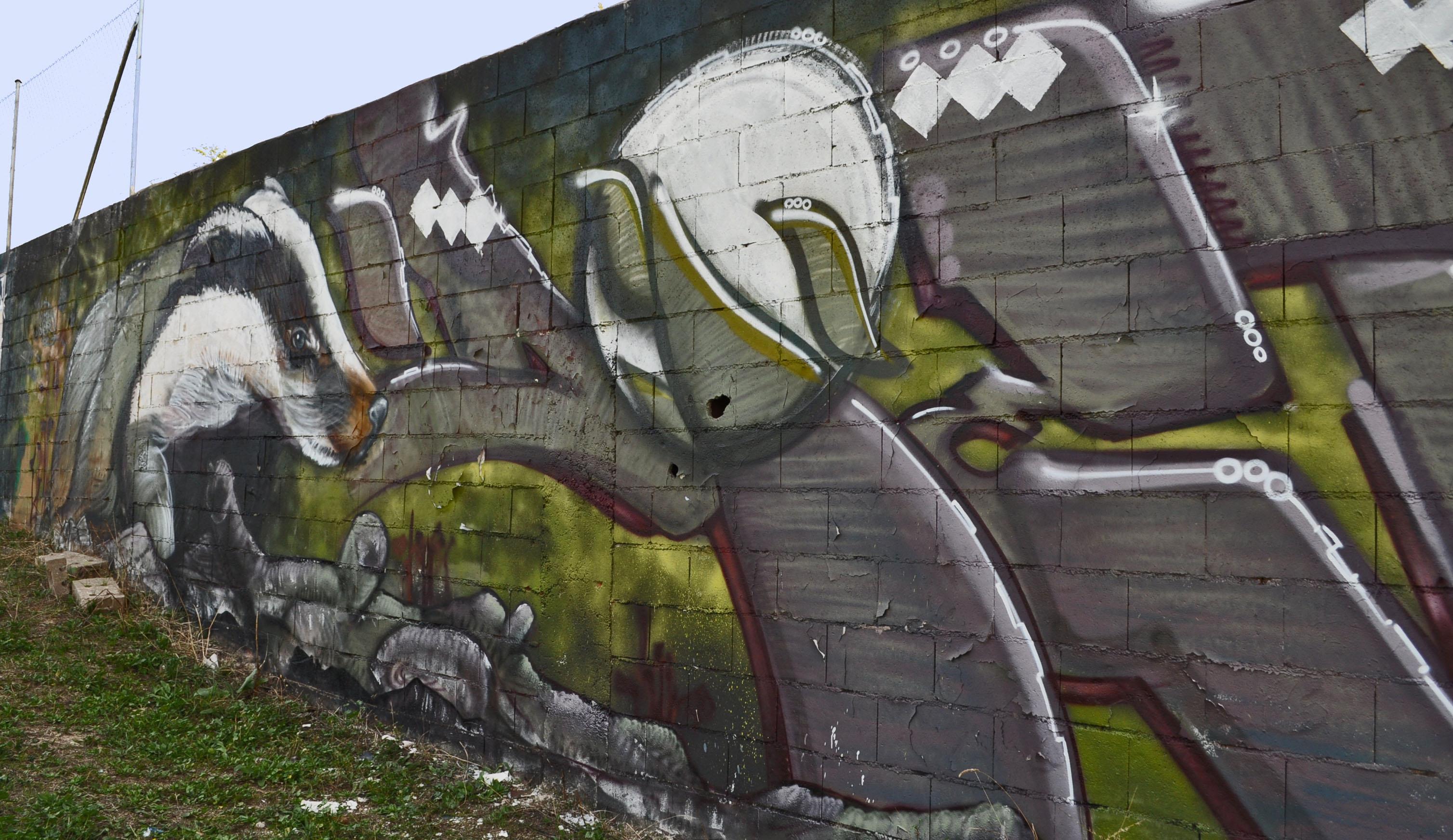 madrid-grafitti-badger
