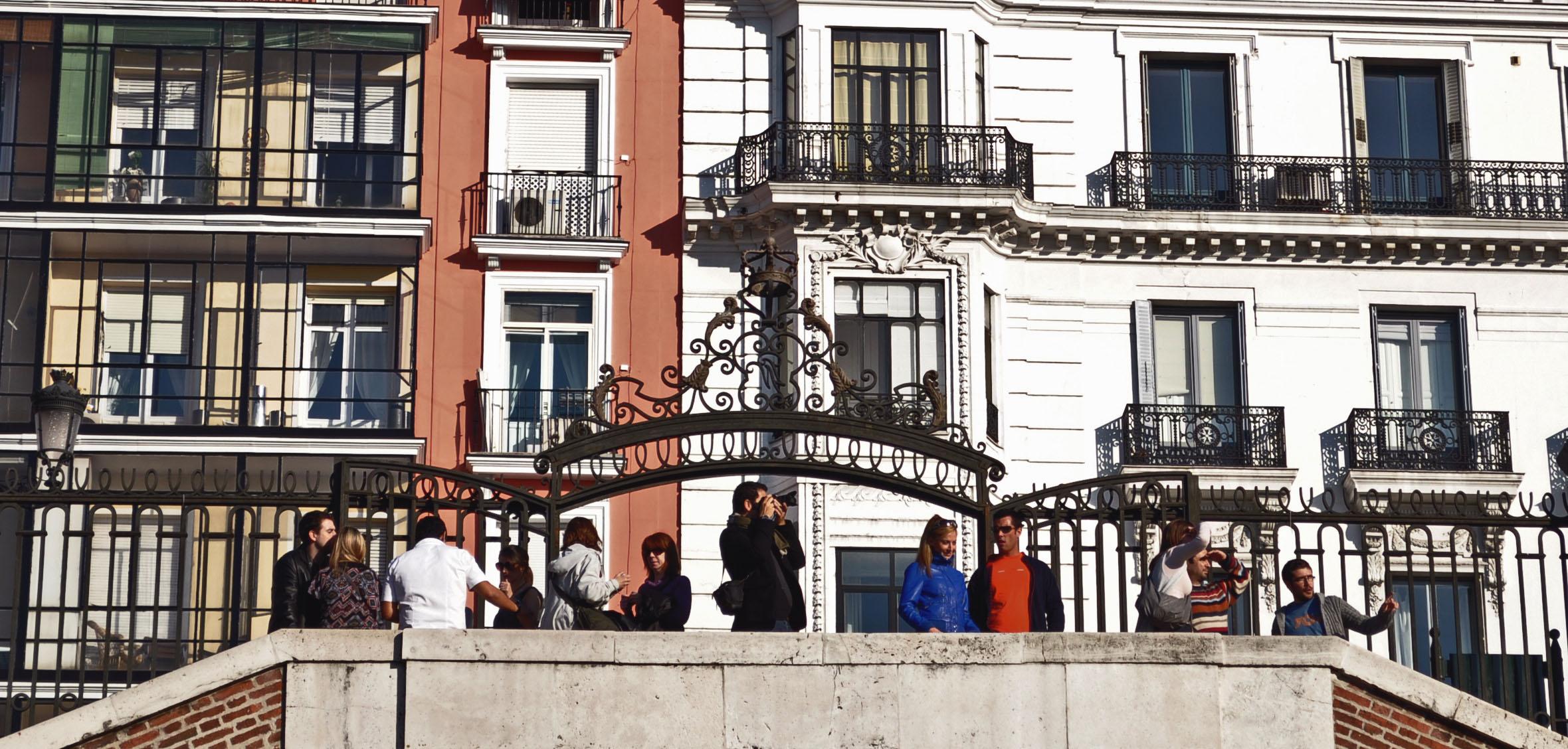 madrid-tourists