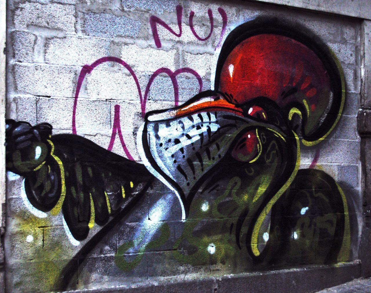 porto-rooster-grafitti