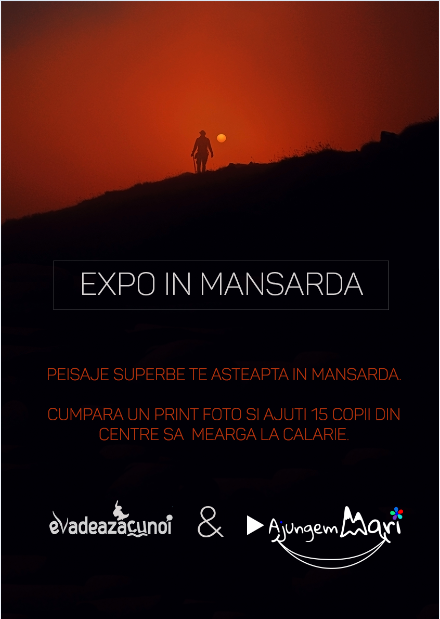 Photo exhibition from Escape trips, from members to raise funds for a trip with kids from an orphanage