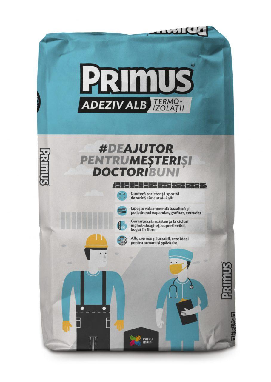 Primus White Termoinsulating Adhesive