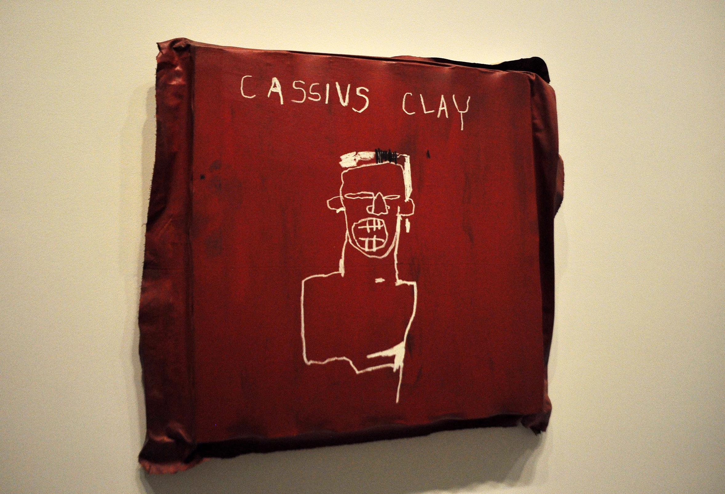 Cassius Clay Basquiat Raluca Turcanasu