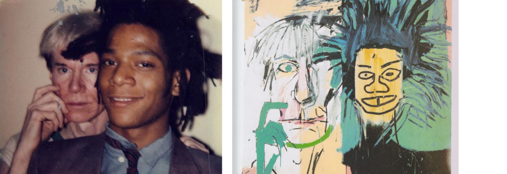 Dos Cabezas Basquiat 1982