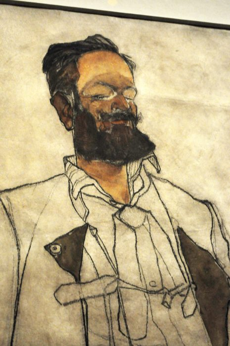 Egon Schiele Man Fondation Louis Vuitton Raluca Turcanasu ra-luca.me 2