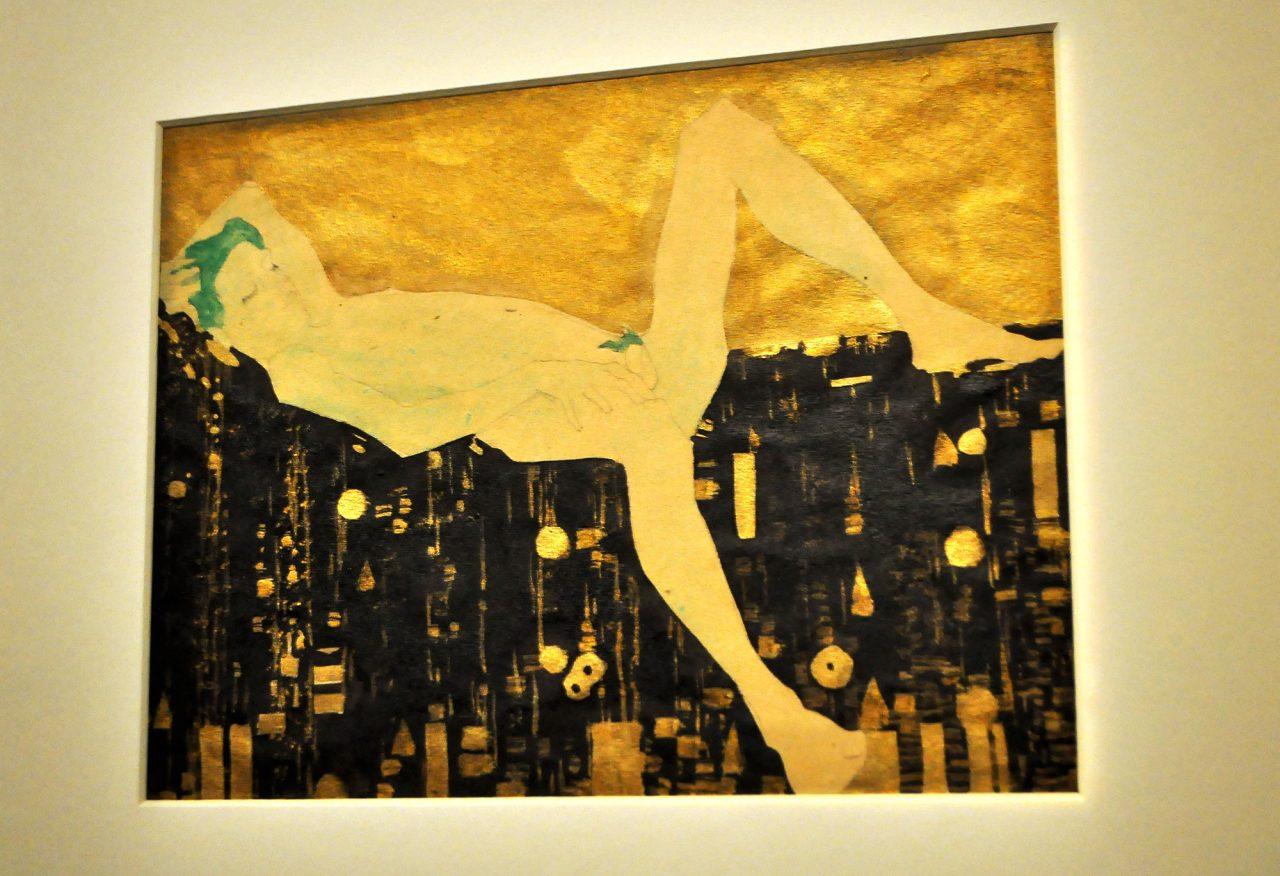 Egon Schiele ORNAMENTAL LINE Fondation Louis Vuitton Raluca Turcanasu ra-luca.me 2