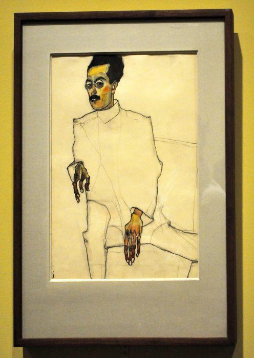 Egon Schiele ORNAMENTAL LINE Fondation Louis Vuitton Raluca Turcanasu ra-luca.me 3