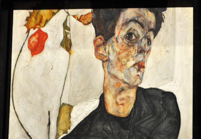 Egon Schiele Self Portrait Fondation Louis Vuitton Raluca Turcanasu ra-luca.me