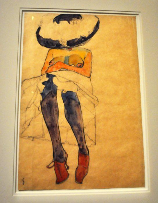 Egon Schiele woman Fondation Louis Vuitton Raluca Turcanasu ra-luca.me 2