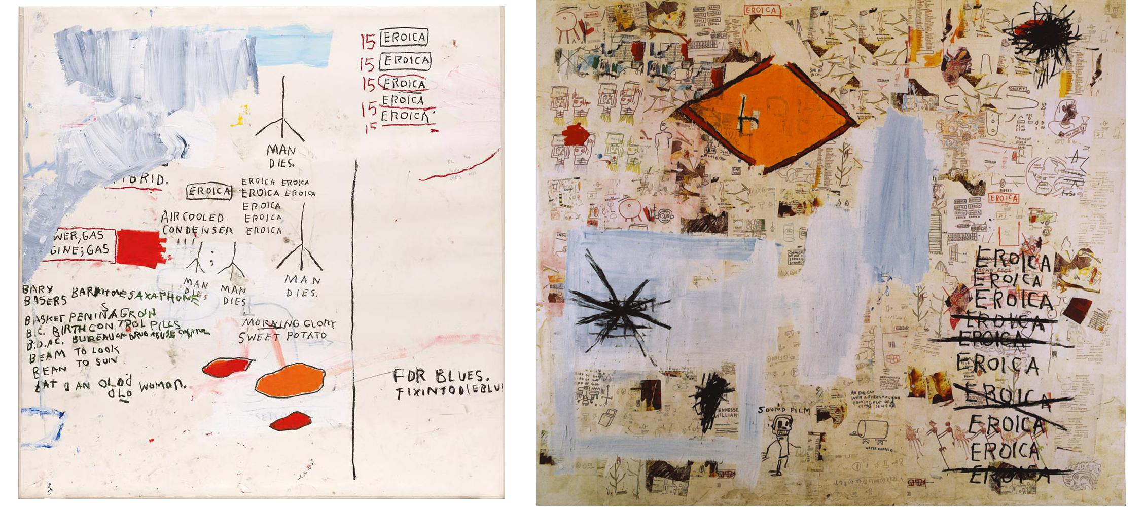 Eroica series Basquiat