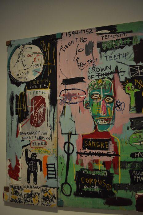 Expo Jean Michel Basquiat Fondation Louis Vuitton Paris - photo Raluca Turcanasu ra-luca.me