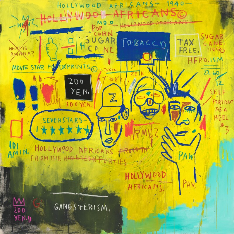 Hollywood Africans Basquiat 1983