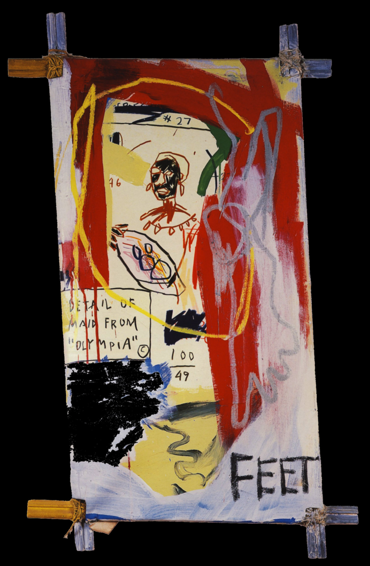 Maid from Olympia Basquiat