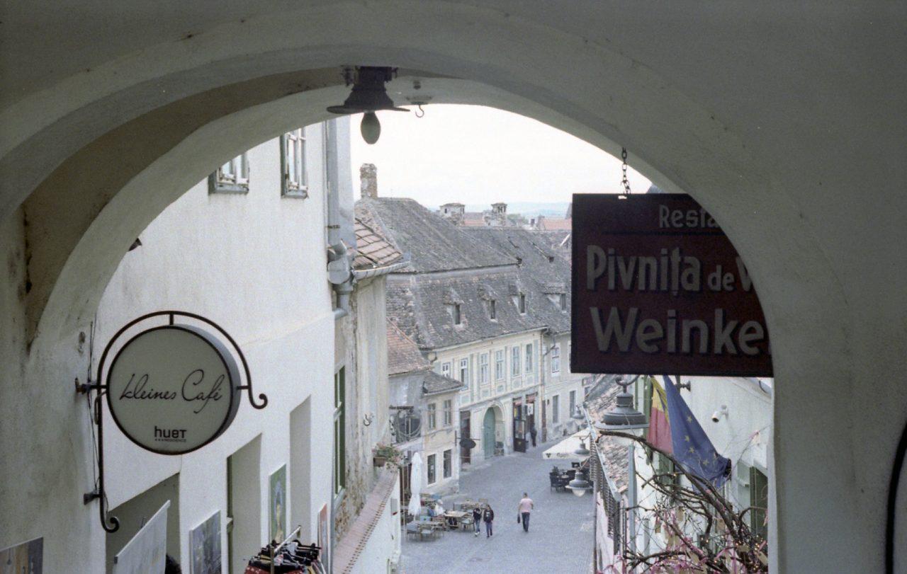 A wine cellar in Sibiu