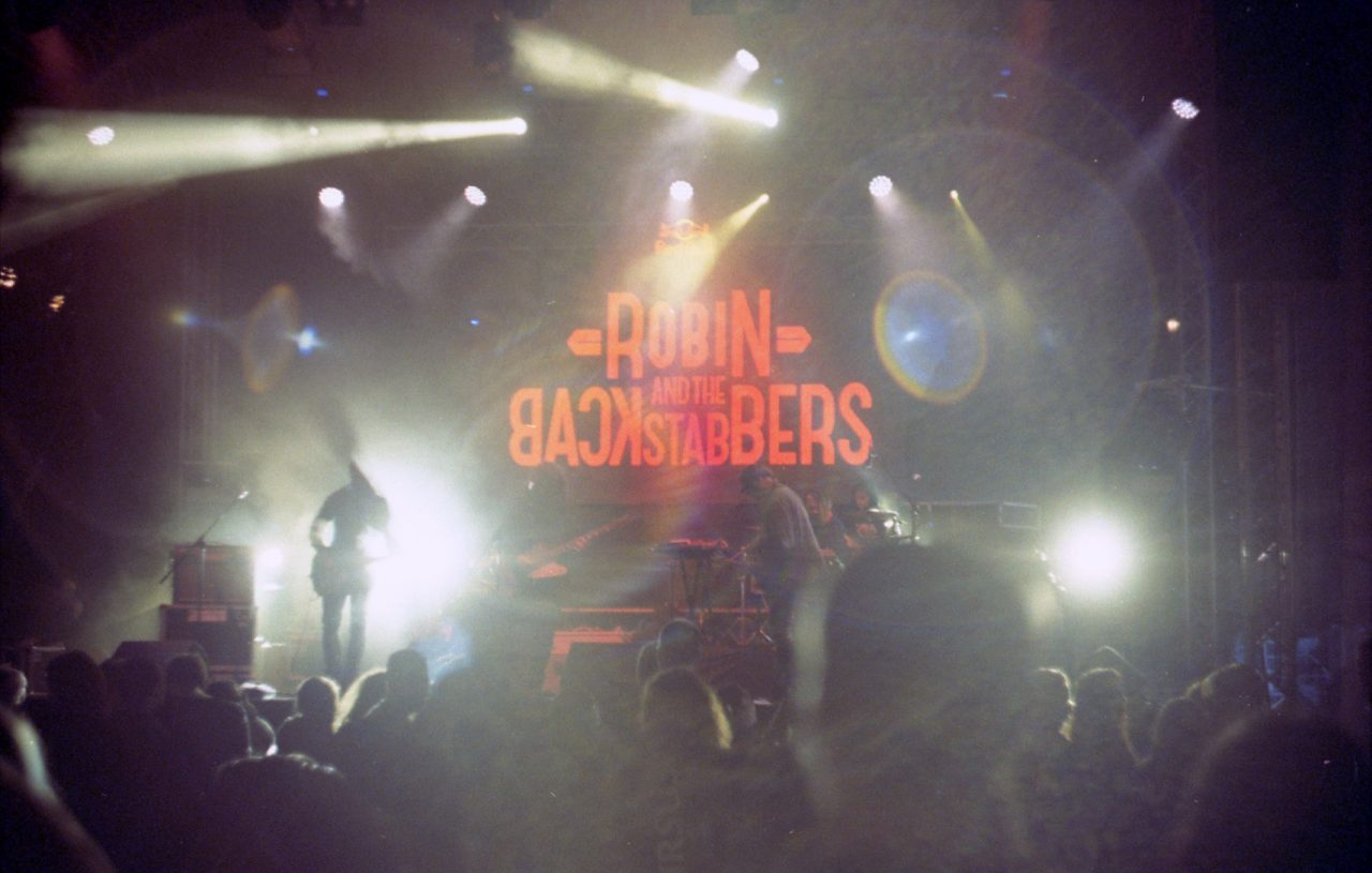 Robin and the Backtabbers at Focus Festival in Sibiu.