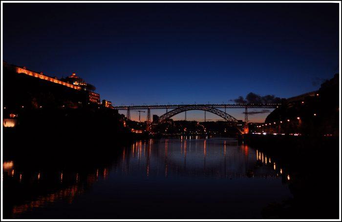Porto> bridge Dom Luis