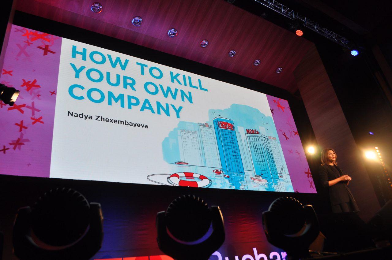 Nadya Zhexembayeva - Chief Reinvention Officer - TEDxBucharest - Raluca Turcanasu ra-luca.me - 1